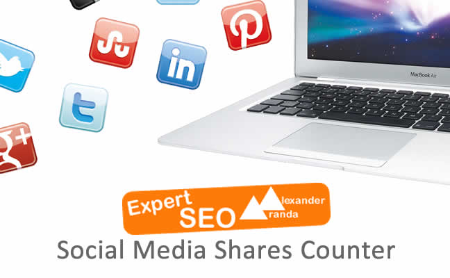 Social Media Shares Counter